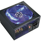 NEW 600W Blue LED Silent 120mm Fan Upgrade Power Supply for Dell Mini Tower PC