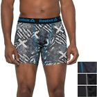 4 Pack REEBOK Men's Boxer Briefs Black PERFORMANCE CAMO MEDIUM LARGE XLARGE $32
