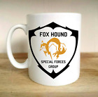 FOX HOUND SPECIAL FORCES METAL GEAR GAMER SOLID SNAKE PS4 BLACK OPS GIFT CUP MUG