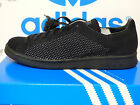 NEW AUTHENTIC ADIDAS Stan Smith Primeknit Shoes - Black; S80065