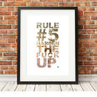 ❤ CYCLING ❤ Rule 5 poster art Limited Edition Print in 5 sizes #13 retro vintage
