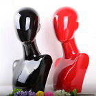 Cosmetology Manikin Mannequin wig Hat Jewelry Necklace Glass Display Model Stand