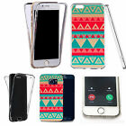 Shockproof 360° Silicone Clear case cover for many mobiles - pyramid