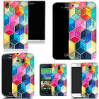 gel case cover for most Mobile phones - mozaic hexagon silicone