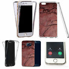 360° Silicone gel full body Case Cover for many mobiles - marble design q69