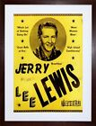 AD JERRY LEE LEWIS WHOLE LOT SHAKING BALLS FIRE FRAMED ART PRINT PICTURE F12X572
