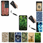 """For Alcatel A30 Case """"5-inch"""" BLACK Dual Layer Hybrid Rugged Armor Cover Case"""