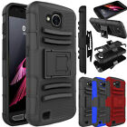 For LG X Venture/ X Calibur/ V9 Case Shockproof Hybrid Clip Holster Armor Cover