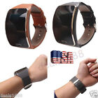 Genuine Leather Watch Wrist Strap Band For Samsung Gear S SM-R750 Smart Watch US