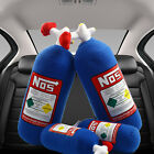 NOS Nitrous Oxide Bottle Pillow Plush Toy Turbo JDM Cushion Gift Decor Headrest