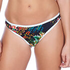 Freya Swimwear Club Tropicana Hipster Bikini Brief/Bottoms Midnight 3998 NEW