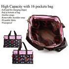 New Diaper Nappy Changing Liners Bags Mummy Baby Travel Shoulder Bag Waterproof