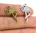 Free Ship 50/200pcs Zinc Alloy Bird Charms Pendant for Jewelry Findings 23x10mm