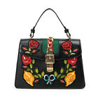 Fashion embroidery women Handmade shoulder bag Handbag Messenger Tote Satchel