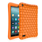 For All-New Amazon Fire 7 7th Gen Tablet 2017 Silicone Case Cover Kids Friendly