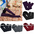 6 Colors Women Winter Thick Warm Leggings Stockings Skinny Pants Foot Stretchy