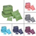 6 Pcs Clothes Underwear Socks Packing Cube Storage Travel Luggage Organizer BY8