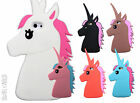 Cute Unicorn Animal Silicone Rubber Kawaii 3D Case Cover For iPhone 5 6 7 8 PLUS