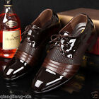 2017 Men's Casual Pantent Leather Shoes Pointed Toe Bridegroom Wedding Shoes