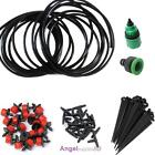 Water Iggigation Kit Set Micro Drip Watering System Automatic Plant Garden A#S