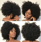 Afro Kinky Curly Virgin Hair Weave 2 Bundle/200G  With 360 Lace Frontal Closure