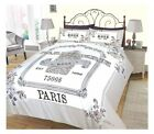 Perfumeries Modern Duvet Cover Reversible Bedding Set All Sizes