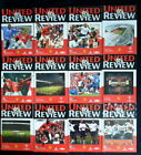 Manchester United  2000-2001    premier league & cups   vgc  all listed