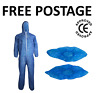 More images of Disposable Overshoes Shoe Covers / Coveralls Overalls Boilersuit Protectors CE