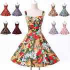 RED Swing 1950s 60s Housewife Pinup Tea Vintage STYLE Dress Plus Size