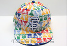 MLB San Francisco GIANTS BIG-TOP BAY White-Multicolor Hat Cap NEW ERA 59FIFTY