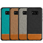 For Samsung Galaxy S8 Plus Canvas Dual Tone Shockproof Bumper Case TPU Cover