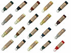 LAND ROVER Leather Touch Up Scratch Repair Pen. All Colours & Custom Paint Dye