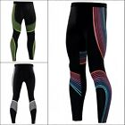 Men's Sports Apparel Skin Tights Compression Base Under Layer Workout Lines Pant