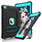 Shockproof Rubber Kickstand Hard Case Cover For Apple iPad 9.7 Inch 2017 5th Gen