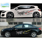 2Pcs Dragon Stickers Whole Body Door Stickers Graphics Decals Cover Car-Styling