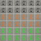 PUMPKINS Stickers Waterproof, ideal for Walls, Tiles, Glass, Ceramics, Wood, Car