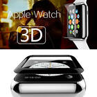 Apple Watch 3D Full Cover Premium Tempered Glass Screen Film Protector 38mm 42mm