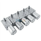 DC12V 2-100RPM Reversible High Torque Turbo Worm Electric Gear Motor Reversible