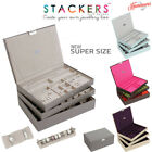 Stackers Super Size Large Jewellery Boxes Trays Choose Your Own Set