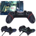 Wired USB Vibrate Gaming Controller Gamepad Joystick for PlayStation 4 PS4