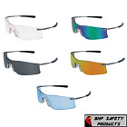 MCR CREWS RUBICON SAFETY GLASSES SUNGLASSES METAL FRAME ASSORTED COLORS (1 PAIR)