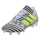 adidas Men's NEMEZIZ 17.1 FG Running White/Electricity/Core Black BB6075