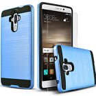 Huawei Mate 9 Case, Dual Layers Hydbrid ShockProof + Screen Protector