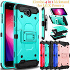 For LG Fiesta LTE / X Power 2 Phone Case Shockproof Hybrid Clip Armor Hard Cover