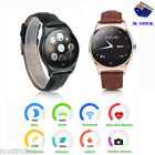 Bluetooth Smart Watch Wrist Heart Rate Monitor for IOS Android IPhone Samsung AU