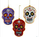 Kurt Adler Halloween Day Of Dead Glass Skull Ornament You Pick New NB1240 2017