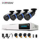 H.VIEW 4 Channel AHD 3000TVL 2.0MP HD For CCTV Camera Security System Home DVR