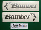 MARZOCCHI BOMBER DESIGN 5 STICKER / DECAL SET