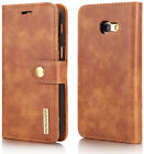 For Samsung Galaxy A3 2017 Genuine Leather Removable Magnetic Case Luxury Cover