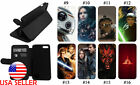 Star Wars Luke IPhone Galaxy S LG Leather Wallet Flip Stand Phone case Anime #2 $19.99 USD